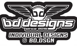 bd designs - Logo schwarz